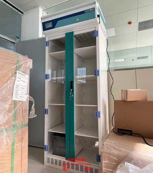 郑州优耐美无管道净气型储药柜工作原理